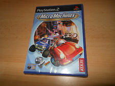 Micro Machines (PS2) Nouveau SCELLÉ PAL VERSION