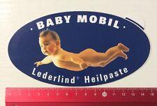 Aufkleber/Sticker: Baby Mobil - Lederlind Heilpaste (160516131)