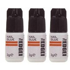3x Pegamento Profesional Extra Fuerte para Tips y  uñas postizas the edge nails
