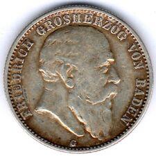 Baden, 2 Mark 1904G , J.32, ss+