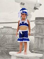 Chichanells bella swim wear,  girl's, 3 pieces set, 6 worn once