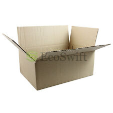 15 10x7x4 Cardboard Packing Mailing Moving Shipping Boxes Corrugated Box Cartons