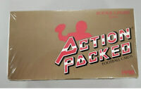 1990 Action Packed Rookie Update Football Factory Sealed Hobby Box
