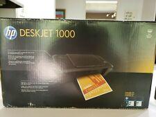 HP DeskJet 1000 Printer J110a Series Color w Manual + CD, New Old Stock (READ)