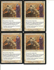 MTG 4 Soltari Priest (Sacerdote soltari)  Español EX Magic x4 Time Shifted
