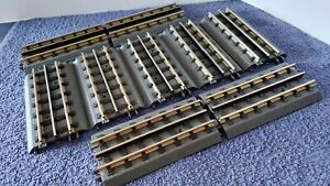 MTH realtrax tracks Lot Of 9 Pieces Of 5.5 Inch Track LN