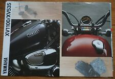 1991 Yamaha XV1100 XV535 Motor Bike Motorbike Cycle Motorcycle Brochure