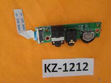 Notebook ASUS W5F Soundboard Platine Board Schalter #Kz-1212