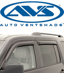 AVS 94074 In Channel Window Ventvisors 4-Piece Smoke 1991-2005 Ford Explorer
