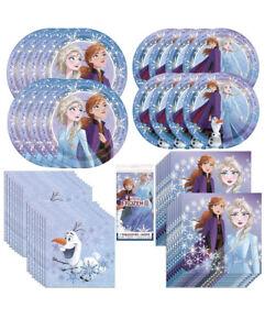 Frozen 2 Party Bundle Plates Napkins Tablecover 49 Pieces