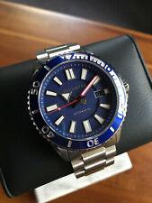 Spinnaker Amalfi Automatic Watch, Blue, 46 mm, 20 atm, SP-5074-22