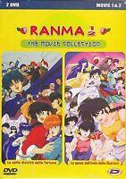 2 Dvd Box Cofanetto «RAMNA 1/2 ~ THE MOVIE 1 & 2 COLLECTION» nuovo