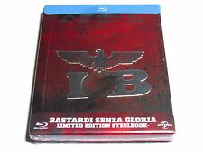 INGLOURIOUS BASTERDS BLU-RAY STEELBOOK LIMITED EDITION BRAND NEW EMBOSSED!!