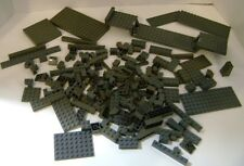 Lego Dark Grey Gray Lot Base Plates Bricks Flat Pieces Etc.