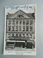 Ansichtskarte Heilbronn a.N. Hotel Falken am Marktplatz 1936