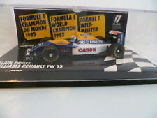 WILLIAMS RENAULT FW 15 ALAIN PROST 1/64 : EDITION LIMITEE ~  NEUF