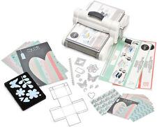 SIZZIX Big Shot PLUS Starter Kit Stanzmaschine Prägemaschine White & Grey 661546