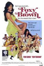 FOXY BROWN Movie MINI Promo POSTER Pam Grier Terry Carter Antonio Fargas