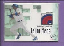 2001  fleer legacy tailor made watch 5 Colors Patch RONDELL WHITE cubs