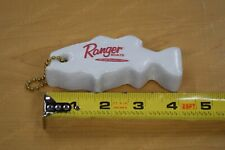 Ranger Boats Floating Key Chain White Bass Fishing Key Chains Logo Fish