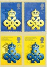 Very Good (VG) 4 Number Great Britain Stamps