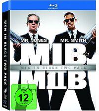MEN IN BLACK 1 + 2 (Will Smith, Tommy Lee Jones) 2 Blu-ray Discs NEU+OVP
