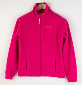 COLUMBIA Kids Zip Fleece Jumper Cardigan Sweater SIze 14/16 AGZ256