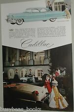 1956 CADILLAC advertisement, Cadillac Coupe & Convertible at Greenbrier Resort