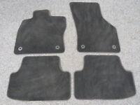 Original VW Fußmatten Satz 4 Stück VW Golf 7 VII MK7 Variant schwarz