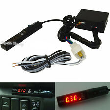 Universal APEXI Car Turbo Timer For NA Black Pen Control Red Digital Led