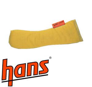 HANS Device Replacement Foam Padding Kit - Race/Racing/Rally/Rallying YELLOW