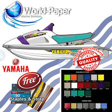 Yamaha Waveraider 700 1100 TEAL Seat Skin Cover 94 95 , Free Strap + Staples :)