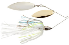 War Eagle Double Willow Nickle Frame Spinnerbaits Sexxy Shad WE38NW19