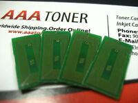 4 x Toner Reset Chip for Ricoh Aficio MP C2000, MP C2500, MPC3000 Printer Refill