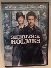SHERLOCK HOLMES, ROBERT DOWNEY JR., JUDE LAW, DVD, CASE, ARTWORK