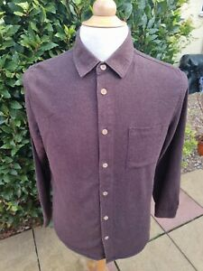 It's All Good Folk Clothing Long Sleeve Shirt Brown Size 2 Small