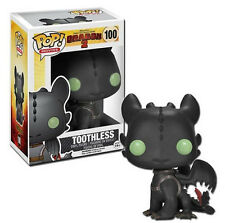 FUNKO POP MOVIES HOW TO TRAIN YOUR DRAGON 2 TOOTHLESS 100