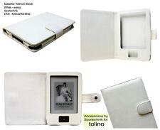 Beste Tasche für E-Book Tolino Shine E-Boo Reader Case - Farbe weiß white