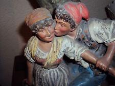 scultura ceramica Guglielmo cacciapuoti primi 900