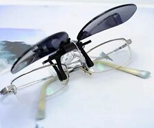 Polarized Clip flap flip Sunglasses  UV Protection fit over prescription Unisex