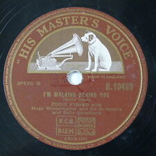 78rpm EDDY FISHER i`m walking behind you / hold me