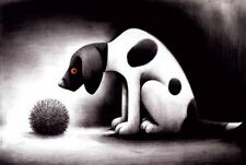 Doug Hyde Roll Up Mounted Limited Edition Print