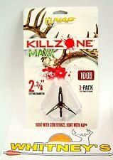 "NAP KILLZONE Cut-on-Contact 100 MAXX 2 3/8"" Cut/Expandable Broadhead - 60-812"