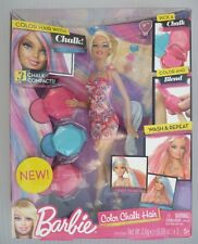 Rare Barbie Set .. Colour Chalk Hair Doll (BNIB))