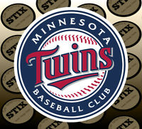 Minnesota Twins Logo MBL Die Cut Vinyl Sticker Car Window Laptop Wall Decal