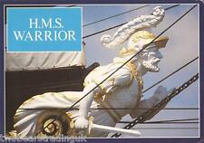 Postcard: HMS Warrior - Warrior Figurehead (1980s)