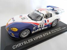 CHRYSLER VIPER GTS-R  N°51  DES 24 HEURES DU MANS 1998 1/43ème