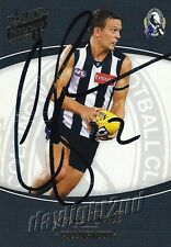 ✺Signed✺ 2014 COLLINGWOOD MAGPIES AFL Card LUKE BALL