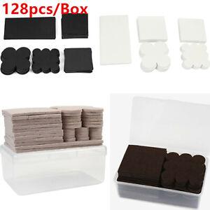 128PCS/Box Heavy Duty Self Adhesive EVA/Felt Pad Furniture Floor Protector Pads