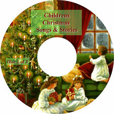 Personalised Childrens Classic & Favourite Christmas Songs & Stories on 3 CDs